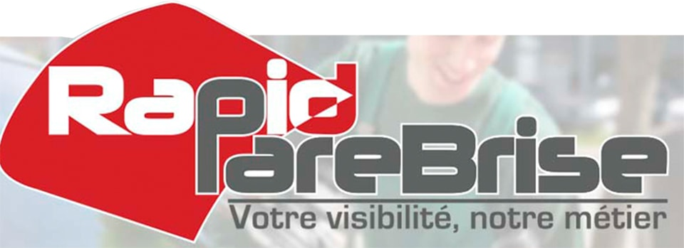 Logo Rapid Pare-Brise Réparation Paris 14